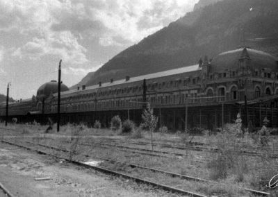 Estación de Canfran